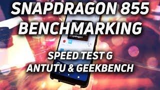 snapdragon 855 Benchmarking: Speed Test G, AnTuTu & Geekbench