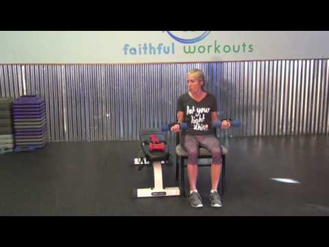 30 minute chair workout for seniors white and ottoman faithful workouts upper body all while sitting in a