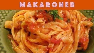 домашняя паста с острым перцем и помидорным соусом (strangozzi alla spoletina)