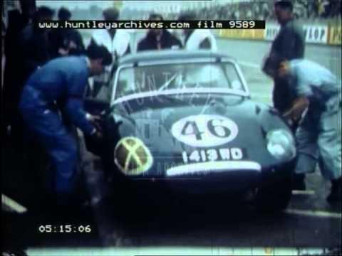 Motor Race, 1960's - Film 9589