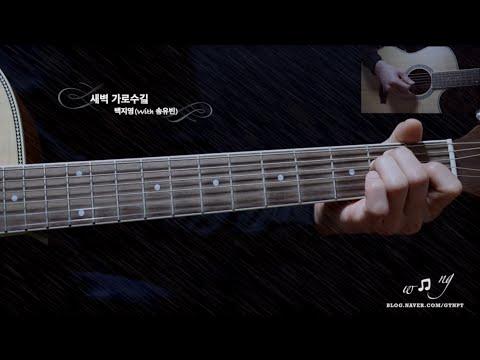 새벽 가로수길 - 백지영(with 송유빈) GUITAR COVER -새벽가로수길 기타연주 GTNPT [GUITAR LESSON TV]