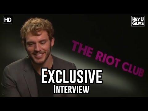 Sam Claflin Interview - The Riot Club