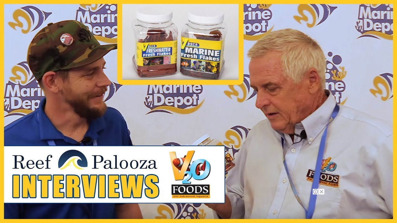 V2O Aquarium Foods Are Making Fish Flakes A Lot More Nutritious - Chris Turk, V2O Foods Thumbnail