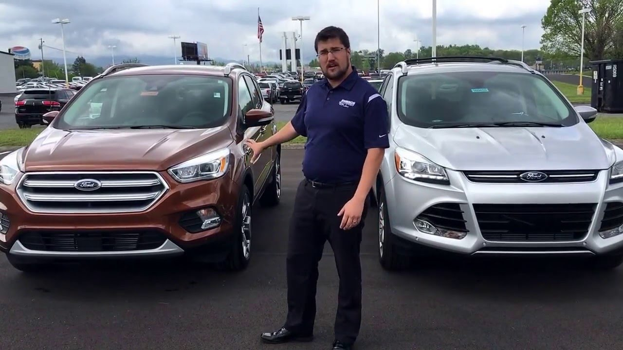 2016 2017 Ford Escape Comparison  Craig Layfield Johnson City