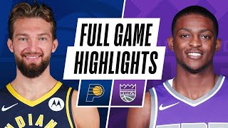 PACERS at KINGS  | FULL GAME HIGHLIGHTS | January 11, 2021