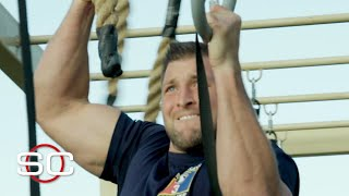 Tim Tebow attempts an Army obstacle course | SportsCenter