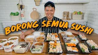 BORONG SEMUA MENU YANG ADA DI SUMO SUSHI WOW!!