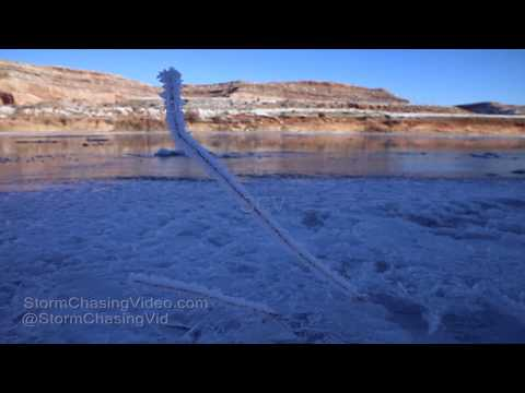 Castle Valley, UT Extreme Cold in the Colorado River Valley - 1/2/2019