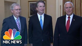 Mike Pence On Brett Kavanaugh Nomination: 'Most Qualified And Most Deserving' | NBC News
