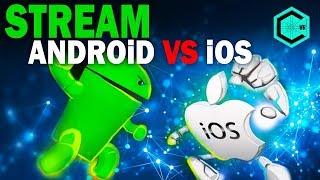 IOS vs ANDROID WAR ROBOTS!  IMP vs COR, odin, RU, Godz! IOS против кланов Андроид. МУЛЬТИПЛАТФОРМА!