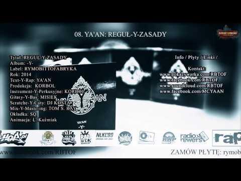 08. YA'AN: REGULY I ZASADY (REGUL-Y-ZASADY, LP -Y- 2014)