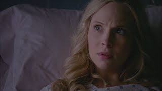 The Vampire Diaries: 7x12 - Caroline in the hospital [HD]