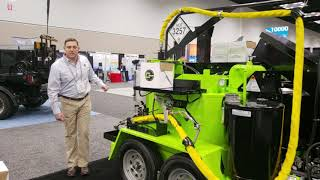 Video still for Cimline Displays C1 Combination Machine at World of Asphalt 2019