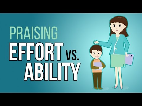 psychology of success praising for quoteffortquot vs. quotabilityquot