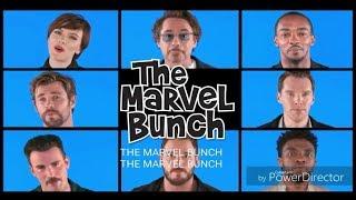 The MARVEL BUNCH FULL LYRICS  IT IS THE STORY .....