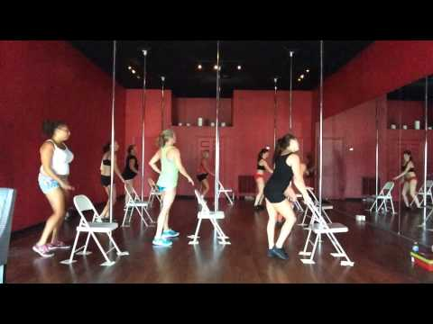 Aura Cardio Pole Fitness Classes taught at Vertical Fitness Studio in Jacksonville Beach, FL