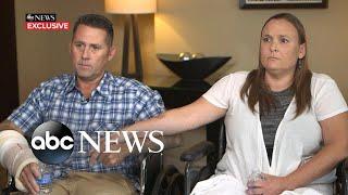 Couple recounts drama of hot air balloon crash l ABC News