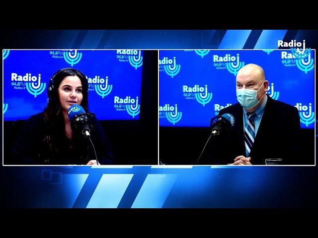 Yom Hatsmaout 2021 : l'ambassadeur d'Israël en France Daniel Saada au micro d'Ilana Ferhadian