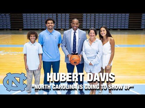 "UNC's Hubert Davis ""North Carolina Is Going To Show Up"""
