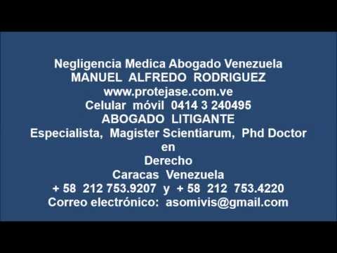 Negligencia Medica Abogado Venezuela