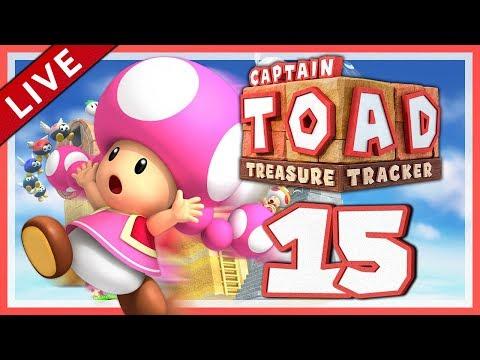 CAPTAIN TOAD: TREASURE TRACKER #15: Alle Zeitvorgaben in Episode 2! [1080p] ★ Let's Play