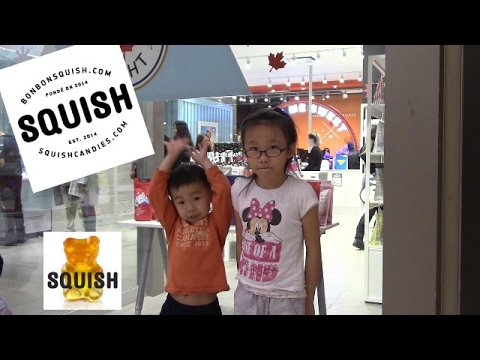 Visit to Squish Candy Gummies store at Scarborough town centre