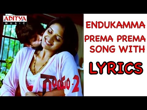 Gaayam 2 Full Songs With Lyrics - Endukamma Prema Song - Jagapathi Babu, Vimala Raman