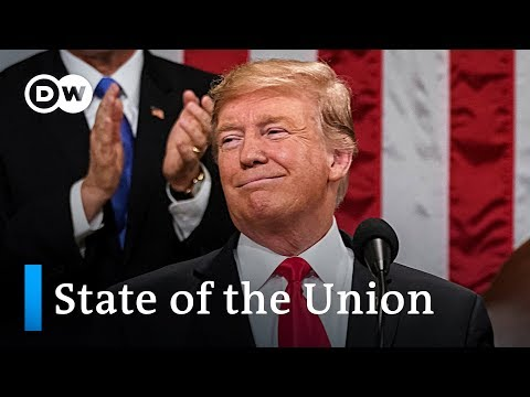 Key points from Donald Trump's 2019 State of the Union speech | DW News