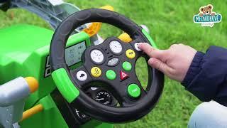 Traktor pro děti na šlapání Jim Loader BIG s nakla
