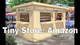 Amazon And Ebay Tiny Garden Houses And Store Kits For Small Businesses And More