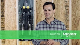 plug on neutral load centers with qwik grip wire management system spanish version