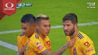 Gol de Gignac | Tigres 1 - 0 Chivas | Clausura 2019 - J17 | Televisa Deportes