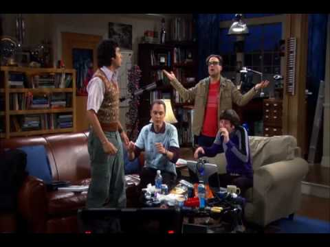 Big Bang Theory - She Blinded Me with Science