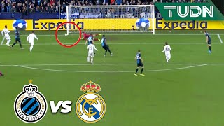 ¡Isco casi anota el primero! | Club Brujas 0 - 0 Real Madrid | Champions League  J6 - Grupo A | TUDN