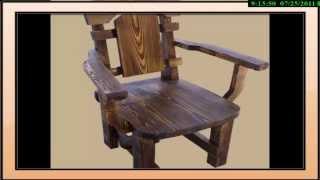 Мебель из массива сосны с эффектом старения   2(, 2011-07-27T18:59:22.000Z)