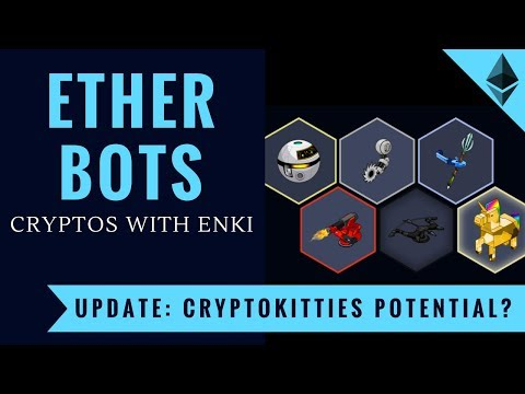 EtherBots - Launch Takes Over CryptoKitties in Transaction Volume - Crypto Games