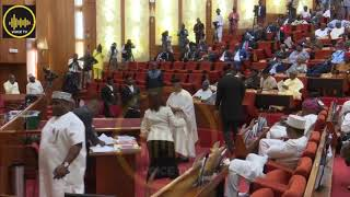 Ministerial Screening: Drama As Senate  Screen Akpabio