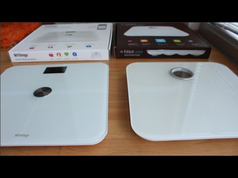Review Of The Wifi Bathroom Scales Withings Ws 50 Vs Fitbit Aria