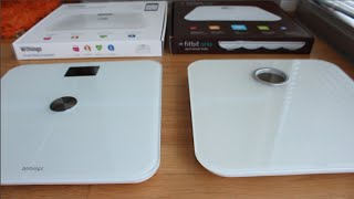 Review of the WiFi Bathroom Scales (Withings ws-50 vs Fitbit aria)