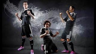 Presentación de la camiseta del Real Madrid para la Champions League