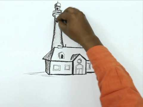 How To Draw A Vintage House