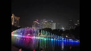 쿠알라룸푸르 페트로나스타워 분수3(1)
