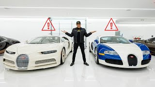SOMETHING IS WRONG WITH 2 OF MY BUGATTIS! || Manny Khoshbin