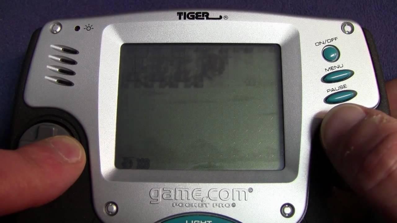 TIGER R-ZONE & GAME.COM (SYSTEME/SPIELE) TEIL 3 - ein ...