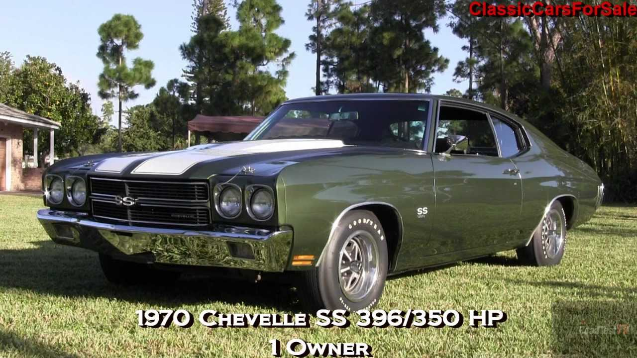 classic cars for sale 1970 chevelle ss396 350 horsepower 1 owner youtube. Black Bedroom Furniture Sets. Home Design Ideas