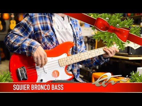 Squier Bronco Bass | Review & Demo
