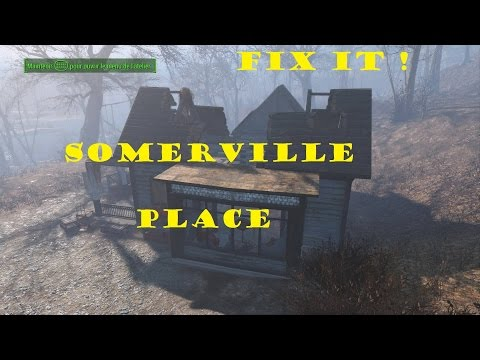 How to fix Somerville place's house