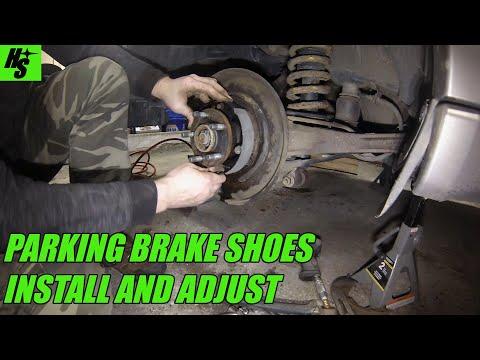 How To Subaru Parking Brake Shoe Replacement