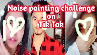 Nose painting challenge trends on Tik Tok