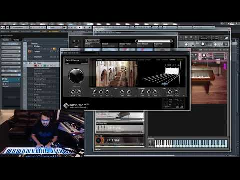 STUDIO SPACE #1.1: Altiverb Fun with Virtual Pianos